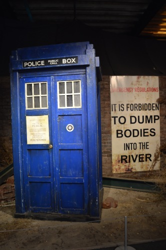 This is Dr. Who's Tardis, his time machine.