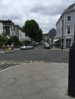 The road of all independent shops in Camden.