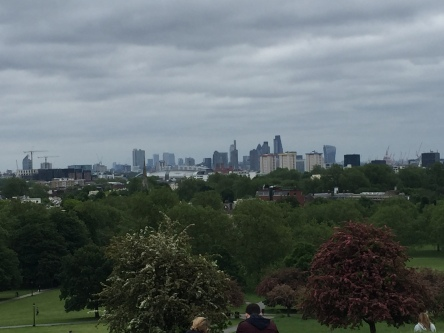 Views from Primrose hill, the highest point in London.