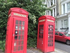 Telephone booths! Just what I was looking for.