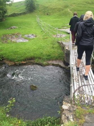 Bridge to the wishing tree