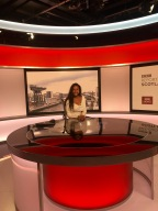 Reporting Live from BBC Scotland