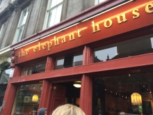 Where JK Rowling wrote Harry Potter