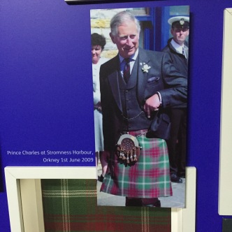 Prince Philip wearing his Kinloch Anderson's kilt.