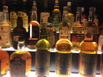 Collection of whiskey